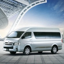 丰田HIACE 2011款 2.7L手动标准版13座