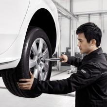Audi Top Serveice服务项目-四轮定位(B8 A4L车型)