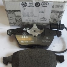 Audi Top Serveice服务项目-更换刹车片(B8 A4L车型)