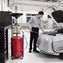 Audi Top Service-更换机油滤清器