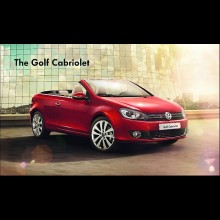 The Golf Cabriolet Golf敞篷轿车 豪华版