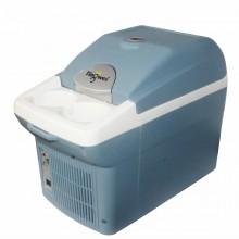 婷微汽车载冰箱6L空气净化负离子家车二用小迷你冷热暖藏箱保温 蓝色 冷暖箱
